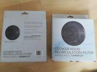 2 carbon filters for cooker hood (CARBFILT1)