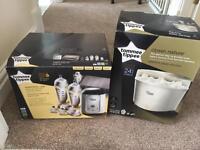 Tommee Tippee Steriliser and breast milk starter kit