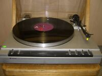 Trio turntable
