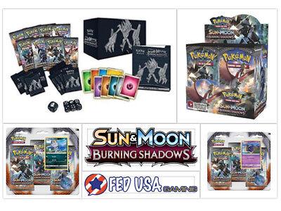 Pokemon Burning Shadows ULTIMATE TRAINER KIT Booster Box + Elite + 2 Blisters  (Pokemon Kit)