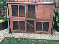 Rabbit Hutch good condition and well looked after.