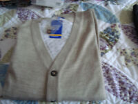 New Men's cardigans size 44-46. in 3 colours price is for the 3.