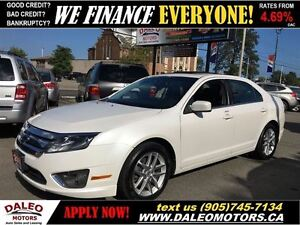 2010 Ford Fusion SEL 3.0 V6 AWD NAV LEATHER SUNROOF