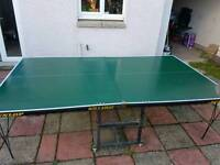 Dunlop Rollaway Table Tennis Table