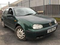 Volkswagen Golf 1.6 Petrol + AUTOMATIC + MOT TILL MAY 2017 + DRIVES SUPERB