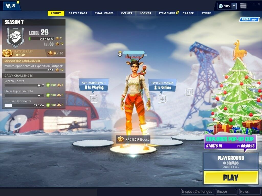 Fortnite Account 33 skins with Save The World | in Ballymena, County Antrim  | Gumtree