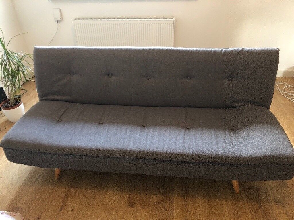 Chesterfield Maison Du Monde maison du monde sofa bed (less than one year old) £45 | in brighton, east  sussex | gumtree