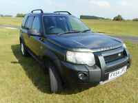 Land Rover Freelander Td4 SE, 4x4, 183k miles, alloy wheels, heated seats, £30k plus new, hi spec.