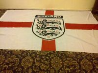 england and st.george flags