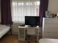Large & Recently painted and new furnished Twin bedroom for a 2 sharers or a couple Intern 110 mbps