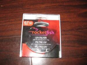 Rocketfish UV Lens Filter. Clear. Compatible with Nikon. Canon. Sony. Digital SLR Camera / Camcorder. Photo