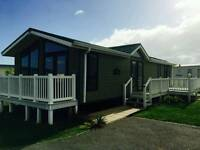 Luxury lodge for sale at Camber Sands