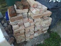 200 Reclaimed red Bricks