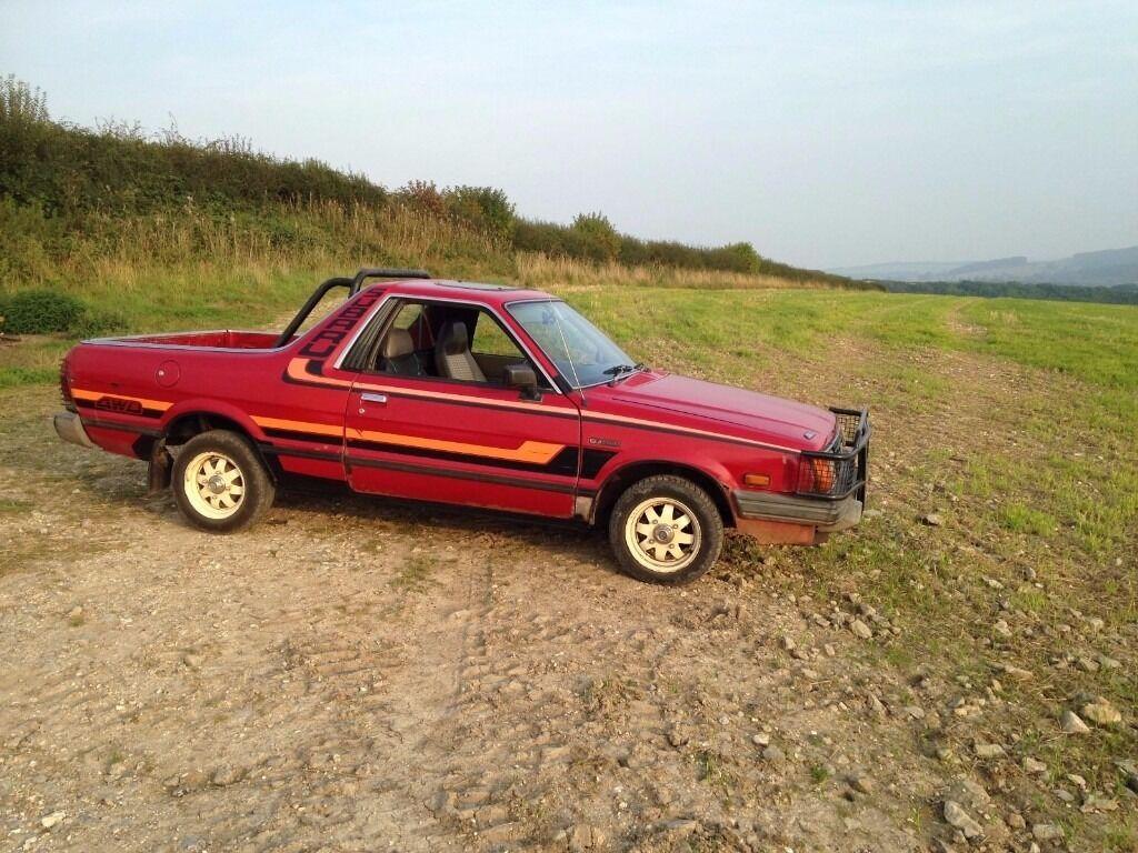subaru brat by 1987 subaru brat brumby pickup in ware hertfordshire gumtree