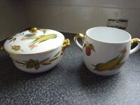 Royal Worcester table wear - gold plated