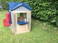 Unusual Little Tikes Wooden Play House