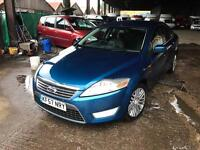 2007 Ford Mondeo Gina TDCi 140 px welcome