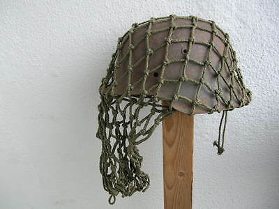 M35 M40 M42 German Helmet camo camouflage Net cammo Tarnnetz Netto 100% original, used for sale  Shipping to United States