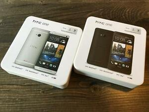 HTC M7 32GB Black or Silver - UNLOCKED - SALE - NEW Guaranteed Activation + No Blacklist