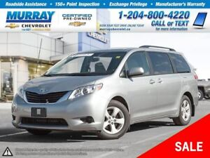 2014 Toyota Sienna *Rear View Camera, Traction Control*