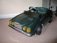 RARE TT toys Jaguar V12 pedal car