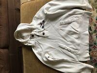 Men's hoodie Hollister cream