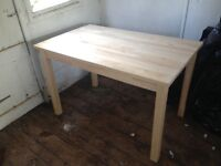 Ikea Dining Table - Bjorkudden