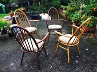 Ercol table & chairs