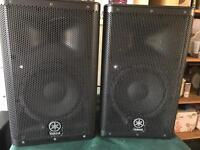 Yamaha Nexo DXR 8 PA system Active Speakers. Pair. 700w RMS each
