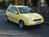 Volkswagen Lupo 1.0 7 stamps history 1 year mot not corsa fiesta polo