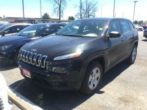 2014 Jeep Cherokee SPORT**4X4**BACK UP CAM**BLUETOOTH**REMOTE ST