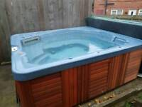 Spa form party hot tub