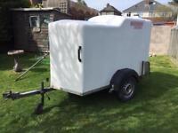 Wessex van box trailer