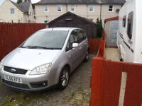 ford focus c-max 56 plate 1798cc silver 895 swap for van or campervan best offers takes car