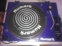 numark dj turntable direct drive TT1910