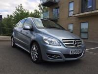 MERCEDES B CLASS B180 SPORT ** FULL MERCEDES SERVICE HISTORY ** HALF LEATHER SEATS **