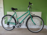 "GREAT LADIES MOUNTAIN BIKE..""RALEIGH SPIRIT""..LARGE 20"" FRAME ,IDEAL FOR A TALLER LADY.READY TO RIDE"