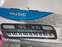 Small electric keyboard