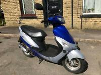 Peugeot V Clic 50cc, Cheap Moped/Scooter, Fully Serviced, 10 Months MOT