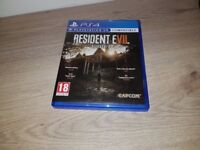 Resident Evil 7 PS4 As new