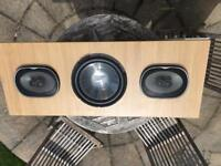 Price reduced - Infinity speakers and sub