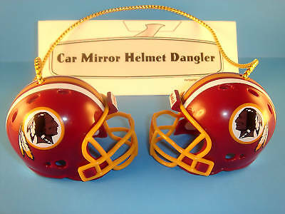 WASHINGTON REDSKINS CAR MIRROR NFL FOOTBALL HELMET DANGLER - HANG FROM ANYTHING!