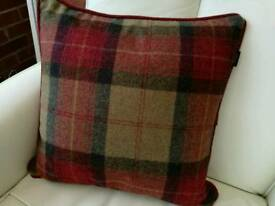 Tartan cushion by Moon