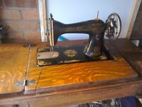 Original singer treadle sewing machine in very good condition