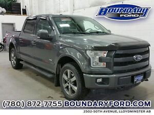 "2015 Ford F-150 4WD SuperCrew 145"" Lariat **ENTER TO WIN $10,000"