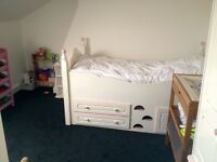 Chartley girls cabin bed, cost over £100 new