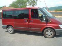 transit 9 seater/ day van/ camper
