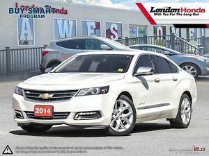 2014 Chevrolet Impala 2LZ Leather! Loaded! One Owner! Clean C...