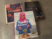 Cookbooks - Nadiya Hussain John Whaite Sabrina Ghayour Great British Bake Off