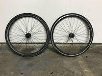 Specialized Wheelset (Shimano Freewheel, Dura Ace Cog and lockring)